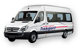 prague airport transport - minibus xxl